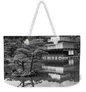 Golden Pagoda In Kyoto Japan Weekender Tote Bag