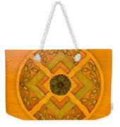 Golden Pattern 1 Weekender Tote Bag