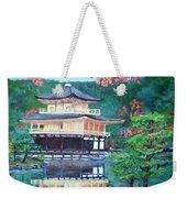 Golden Pavillion In Kyoto Weekender Tote Bag