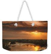 Golden Payette River Weekender Tote Bag