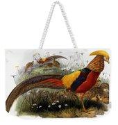 Golden Pheasants Weekender Tote Bag