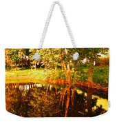 Golden Pond 4 Weekender Tote Bag