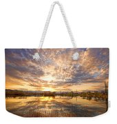 Golden Ponds Scenic Sunset Reflections 2 Weekender Tote Bag