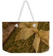 Golden Present Weekender Tote Bag