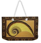 Golden Ratio Spiral Weekender Tote Bag