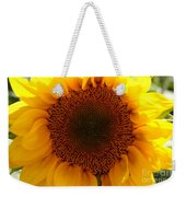 Golden Ratio Sunflower Weekender Tote Bag by Kerri Mortenson