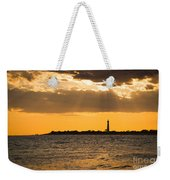 Golden Rays At Cape May Weekender Tote Bag