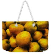 Golden Renaissance Apples Weekender Tote Bag