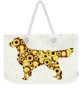 Golden Retriever - Animal Art Weekender Tote Bag