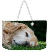 Golden Retriever Dog Sweet Dreams Weekender Tote Bag