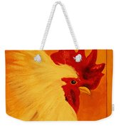 Golden Rooster Weekender Tote Bag