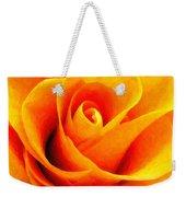Golden Rose - Digital Painting Effect Weekender Tote Bag