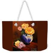 Golden Roses Jenny Lee Discount Weekender Tote Bag