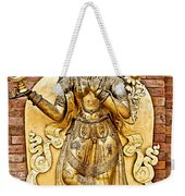 Golden Sculpture In A Hindu Temple In Patan Durbar Square In Lalitpur-nepal Weekender Tote Bag