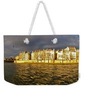 Golden Seine Weekender Tote Bag