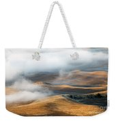 Golden Shadows Weekender Tote Bag by Mike  Dawson