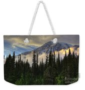 Golden Shawl On The Mountain Weekender Tote Bag