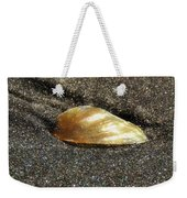 Golden Shell Weekender Tote Bag