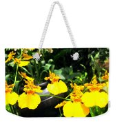 Golden Shower Or Dancing Lady Flower Weekender Tote Bag