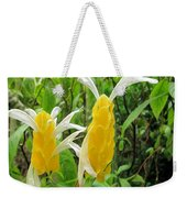 Golden Shrimp Plant Or Lollipop Plant Weekender Tote Bag