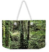 Golden Silence In The Forest Weekender Tote Bag