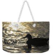 Golden Silhouette  Weekender Tote Bag