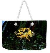 Golden Spider Lily Weekender Tote Bag