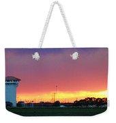 Golden Spike Sunset Weekender Tote Bag