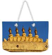 Golden Spires Udaipur City Palace India Weekender Tote Bag