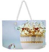 Golden Splash Weekender Tote Bag