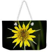 Golden Star Flower Yellow Salsify Glacier National Park Weekender Tote Bag