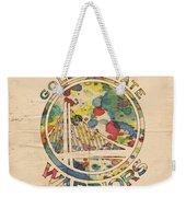 Golden State Warriors Logo Art Weekender Tote Bag