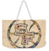 Golden State Warriors Poster Art Weekender Tote Bag