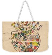 Golden State Warriors Vintage Art Weekender Tote Bag