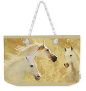 Golden Steeds Weekender Tote Bag