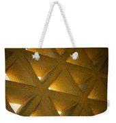 Golden Stonework  Weekender Tote Bag