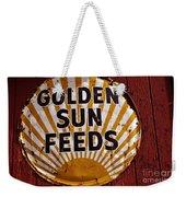 Golden Sun Feeds Weekender Tote Bag
