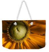 Golden Sunflower Weekender Tote Bag
