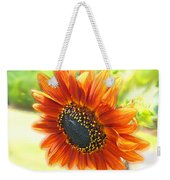 Golden Sunflower Weekender Tote Bag
