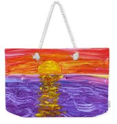 Golden Sunset 2 Weekender Tote Bag