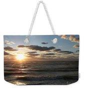 Golden Sunset  Clouds Weekender Tote Bag