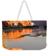 Golden Sunset On The Colorado Weekender Tote Bag