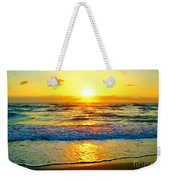 Golden Surprise Sunrise Weekender Tote Bag
