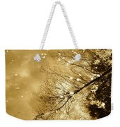 Golden Tones Weekender Tote Bag