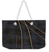 Golden Tracks Weekender Tote Bag