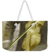 Golden Violin Weekender Tote Bag