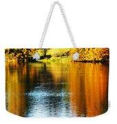Golden Water Weekender Tote Bag