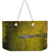 Golden Waters Weekender Tote Bag