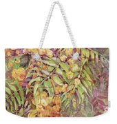 Golden Wattle Weekender Tote Bag