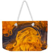 Golden Waves Of Blue Weekender Tote Bag